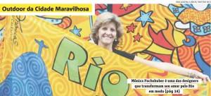 Mônica Fuchshuber no Jornal Metro Rio!