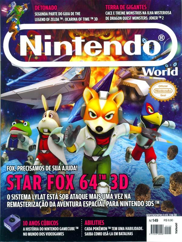 Mônica Fuchshuber na Revista Nintendo World!