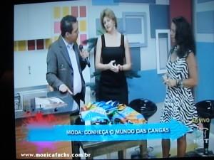 Mônica Fuchshuber participa de Programa na TV